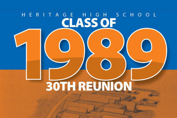 Heritage High School Class of 1989 30th Reunion